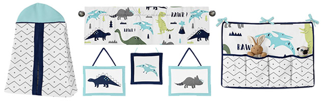 Baby Boy Nursery Themes - Modern Dino