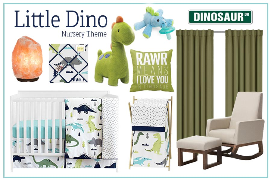 Little Dino Nursery Theme Baby Boy Nursery Themes