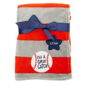 Baseball Nursery Theme - Baseball Baby Blanket