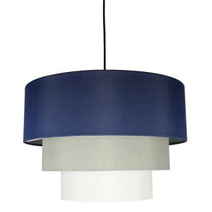 baseball nursery navy pendant light