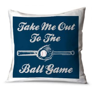 Baseball Nursery Theme - Baseball Throw Pillow