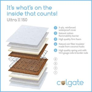 Best Baby Mattress - Colgate Ultra II