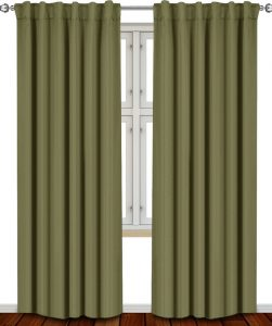 Enchanted Forest Theme - Green Utopia Blackout Curtains